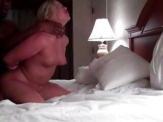 También verá a una pornostar españolas sirvienta caliente y sin problemas que no tiene tiempo para limpiarse el esperma de sus labios.