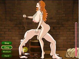El porno gratis fakings macho desarrolló el anal de la perra tetona con un consolador grueso, luego de lo cual insertó su pene elástico en él.