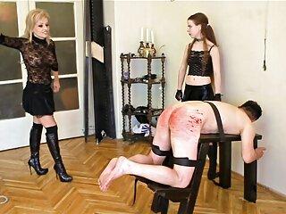 La belleza vino a masajear su esbelto cuerpo, y el maestro comenzó a hacer un excitante masaje, la chica se puso tan caliente videos de sexo completos que quería aquí y ahora.